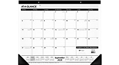 Academic Monthly Desk Pad Calendar (Item # SK2416)