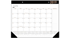 Contempo Monthly Desk Pad (Item # SK24X)