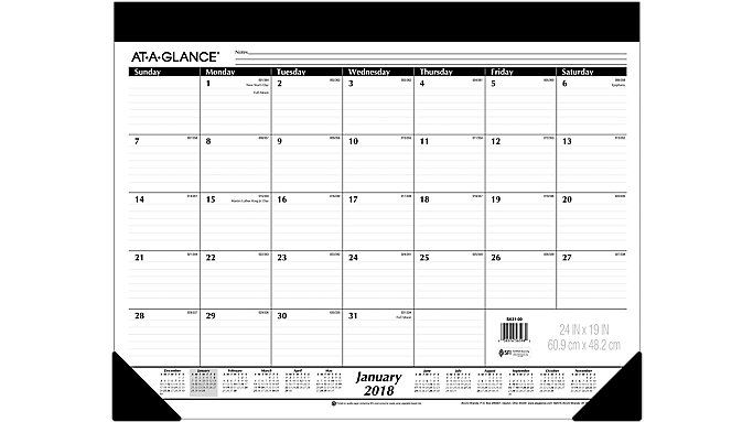 AT-A-GLANCE Monthly Desk Pad  (SK31)