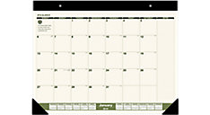 Recycled Monthly Desk Pad (Item # SK32G)