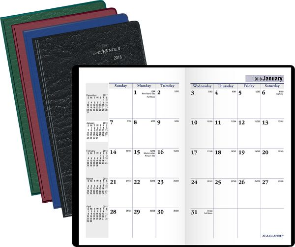 At-A-Glance DayMinder Monthly Pocket Planner - Pocket Planners SK531018