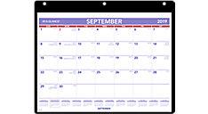 Academic Plan-A-Month Wall Calendar (Item # SK7)