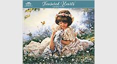 Sandra Kuck Treasured Hearts Monthly Wall Calendar (Item # SKCW04)