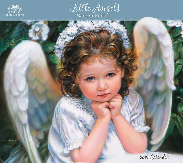 Amcal Sandra Kuck Little Angels Wall Calendar - Fine Art