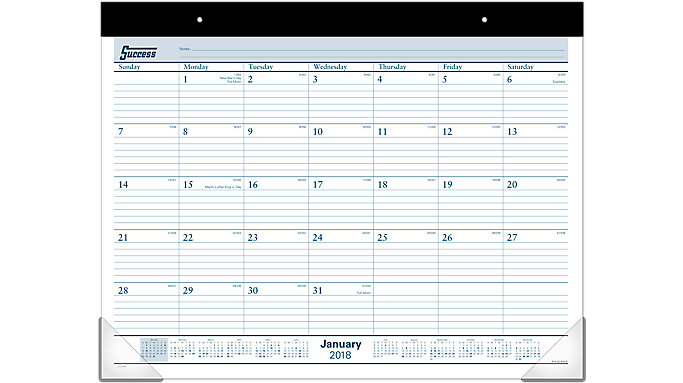 AT-A-GLANCE Monthly Desk Pad  (ST24)