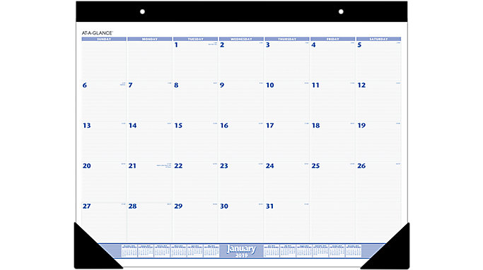 AT-A-GLANCE Monthly Desk Pad  (SW230)