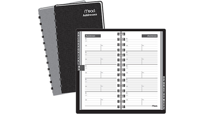 Mead Pocket Telephone-Address Book  (TL2075)