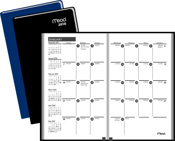 Mead Basic Monthly Pocket Planner - Pocket Planners TL21301018