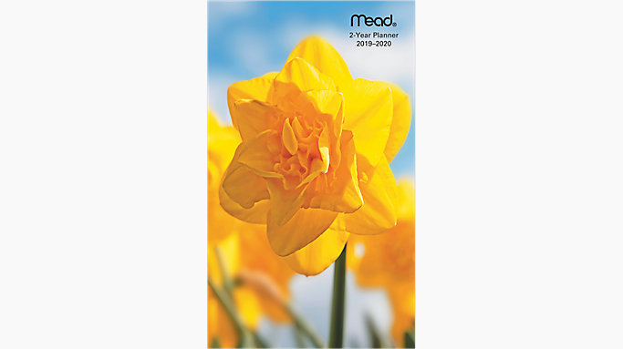 Floral 2-Year Monthly Pocket Planner | TL2510 | Mead