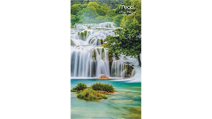 Mead Scenic 2-Year Monthly Pocket Planner  (TL2530)