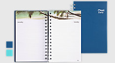 Tropical Undated Daily Planner (Item # TL7230)
