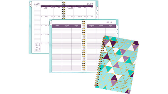 AT-A-GLANCE Weekly-Monthly Teacher Planner  (TP200A)