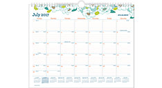 Mia Academic Monthly Wall Calendar (Item # W1018-707A)