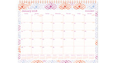 Cecilia Monthly Wall Calendar (Item # W1050-709)