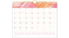 Painted Love Monthly Wall Calendar (Item # W1066-707)