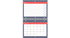 Emma Morrocan Academic Monthly Wall Calendar (Item # W1116M-170A)