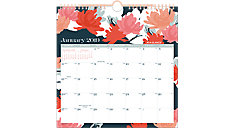 Badge Monthly Wall Calendar (Item # W1148-712)