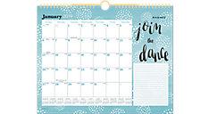 Pebble Monthly Wall Calendar (Item # W1152-707)