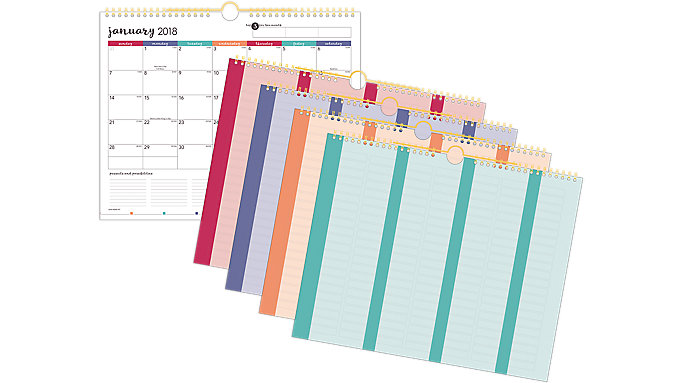 AT-A-GLANCE Harmony Monthly Wall Calendar  (W6099-707)