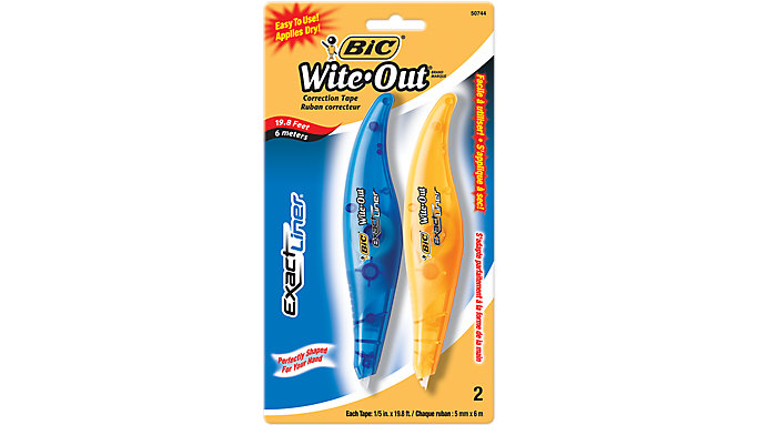 BIC Exact Liner Correction Tape  (WOELP21)