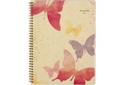 AT-A-GLANCE Watercolors Butterflies Planner