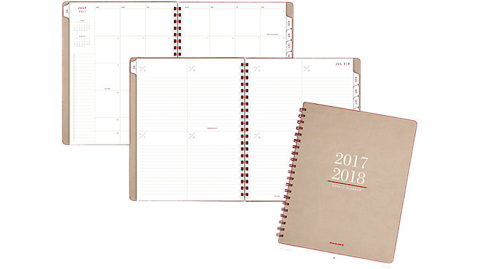 AT-A-GLANCE Collection Academic Weekly-Monthly Planner  (YP104A)