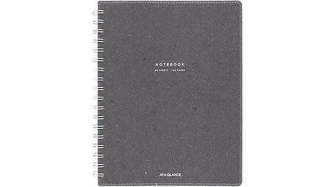 AT-A-GLANCE Signature Collection Twinwire Notebook  (YP144-45)