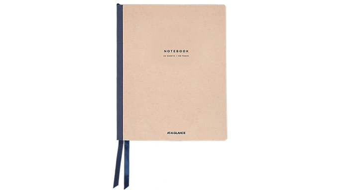 AT-A-GLANCE Signature Collection Casebound Notebook Ruled  (YP147-07)