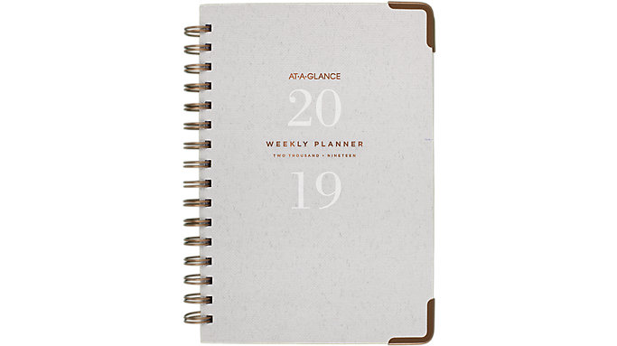 AT-A-GLANCE Signature Collection Weekly-Monthly Planner  (YP200)