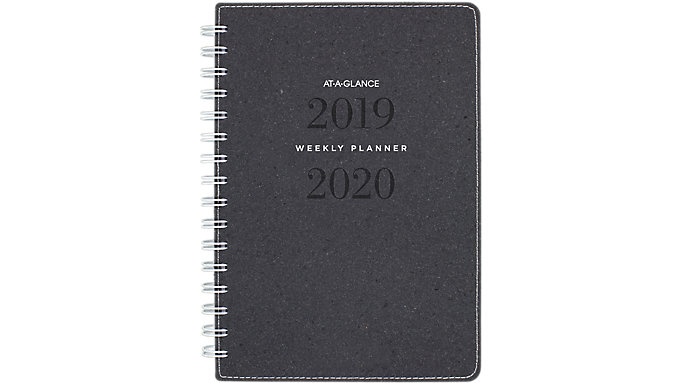 AT-A-GLANCE Signature Collection Academic Weekly-Monthly Planner  (YP200A)