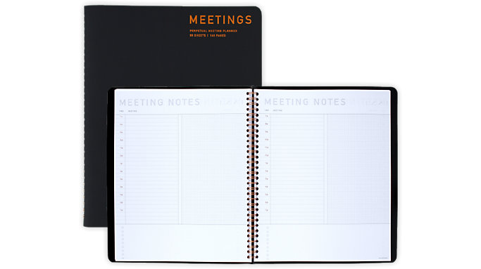 AT-A-GLANCE Signature Collection Meeting Notebook  (YP214)