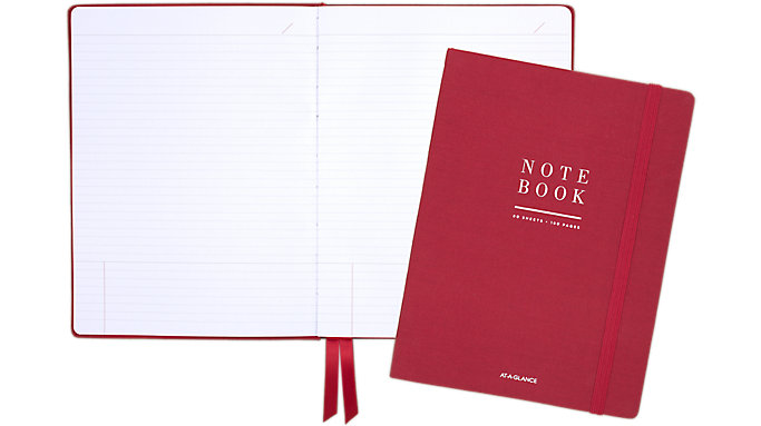 AT-A-GLANCE Signature Collection Perfect Bound Notebook  (YP315-10)