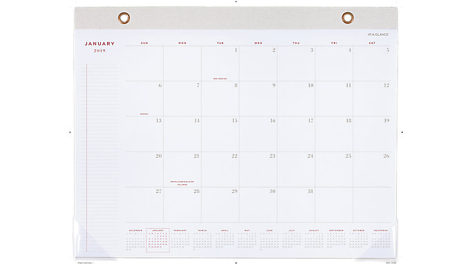 AT-A-GLANCE Signature Collection Monthly Desk Pad  (YP704)