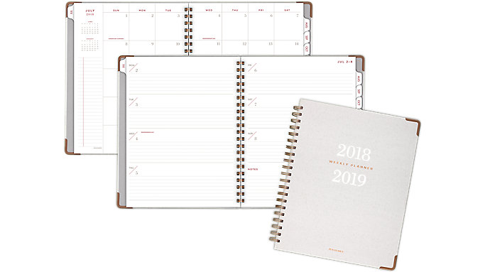 AT-A-GLANCE Signature Collection Academic Weekly-Monthly Planner  (YP905A)