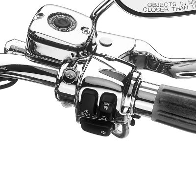 Chrome Clutch Bracket and Master Cylinder Reservoir Kit - 45284-99D |  Harley-Davidson USA