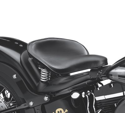 Black Harley Davidson Softail Solo Seat Heritage Classic FLSTC