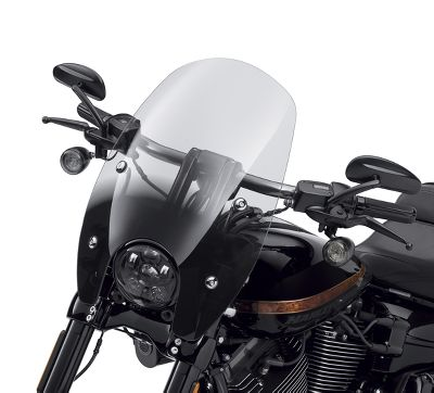 Harley Davidson Windshields >> Quick Release Super Sport 17 In Windshield 57400315