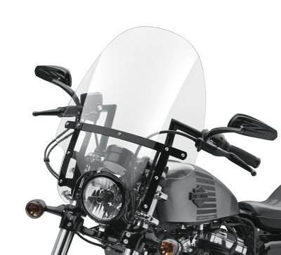 Harley Davidson Windshields >> Quick Release Compact 19 In Windshield