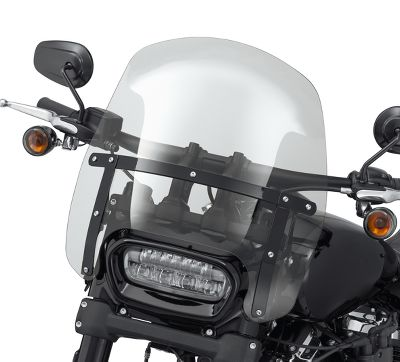 Harley Davidson Windshields >> Wind Splitter H D Detachable Compact 15 In Windshield 57400330