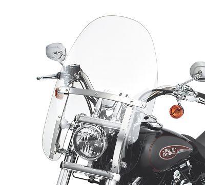 Harley Davidson Windshields >> Quick Release Compact Windshield 58346 06 Harley Davidson Usa