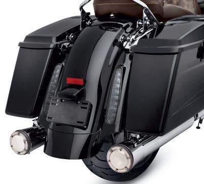 CVO Style Rear Fender System - 59500105BEO | Harley-Davidson USA on harley davidson rear fender lights, harley davidson lower fairing wiring harness, harley davidson trailer wiring harness,