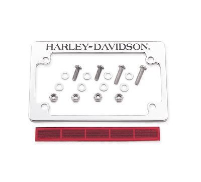 Motorcycle License Plate Frames | Harley-Davidson USA
