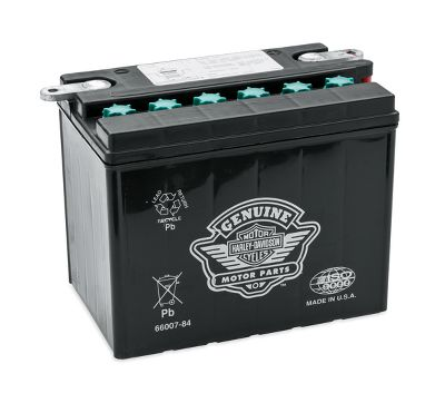 Harley Davidson Battery >> 12v Heavy Duty High Cranking Premium Battery 66007 84 Harley