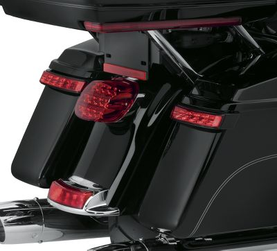 Glo Electra Led Saddlebag Lamp – Black Lens Runbraketurn Housingred thsQCrdx