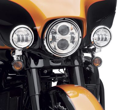 4 in. Daymaker Projector LED Auxiliary Lamps - 68000172 ... Harley Flhtc Wiring Diagram Lights on