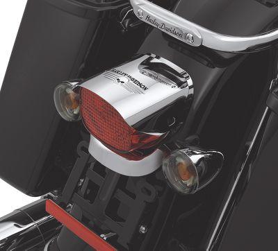 Skull Tail Light Visor - PA-11-6978707 | Harley-Davidson USA