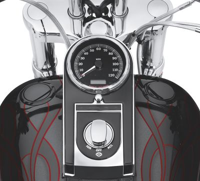 Flush-Mount Fuel Cap and Gauge Kit - 75027-08C | Harley