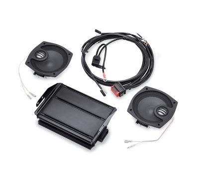 2 speaker boom! audio street glide boom! bagger kit | amplifiers