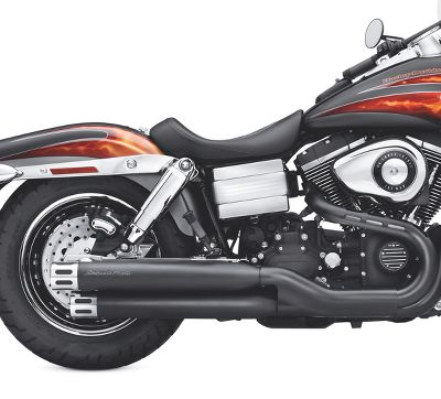 Screamin  Eagle Street Performance Staggered Dual Mufflers - 80601 ... 769051918e618