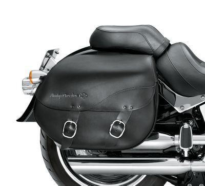 H D Detachables Leather Saddlebags Smooth 90200616a Harley Davidson Usa